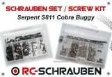 Screw kit for the Serpent S811 Cobra Buggy