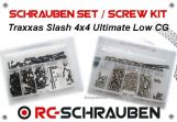 Screw kit for the Traxxas Slash 4x4 Ultimate LCG -  Low CG