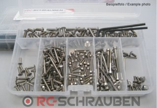 Screw kit for the Absima T8