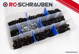 Screw kit for the Hobbytech STR8-T