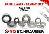 Kugellager Set (2RS o. ZZ) für den Axial SCX10