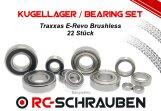 Kugellager Set (2RS o. ZZ) für den Traxxas E-Revo Brushless